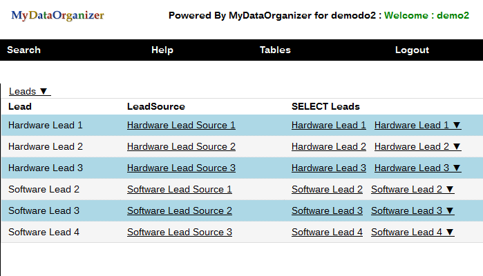 App for Management of CRM Lead Sources