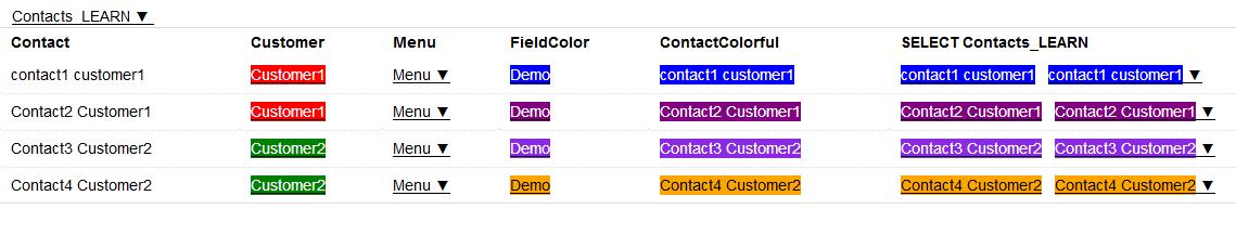 MyDataOrganizer Customer Contacts App – LEARN